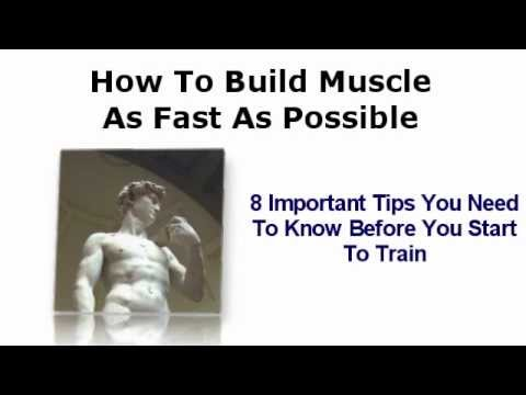 8 Bodybuilding Tips You Need To Know Before Training – How To Build Muscle.