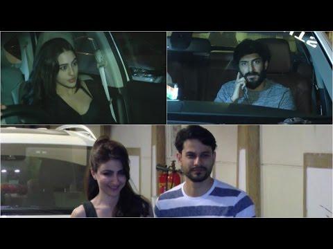 Kunal Kemmu, Soha Ali Khan & Harshvardhan Kapoor Spotted At Kareena Kapoor's House