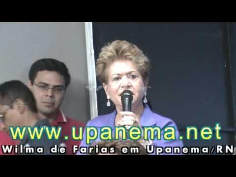 Wilma de Farias (PSB) em Upanema/RN