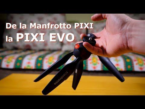Am inlocuit mini trepiedul stricat Manfrotto PIXI cu modelul evoluat PIXI EVO