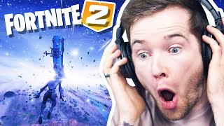 Reacting to FORTNITE BLACK HOLE Live Event!