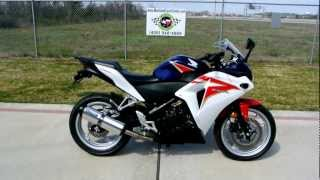 10. Review: 2012 Honda CBR250R Red White and Red Blue
