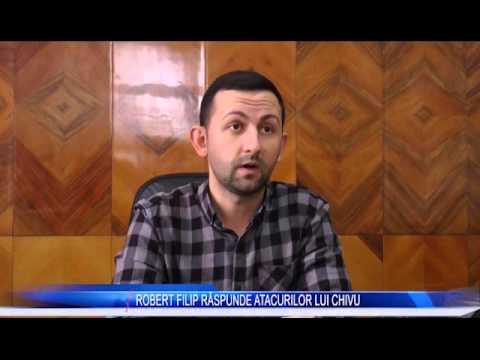 ROBERT FILIP RĂSPUNDE ATACURILOR LUI CHIVU