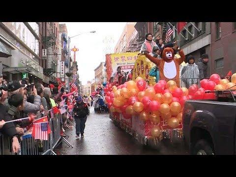 العرب اليوم - احتفالات السنة القمرية الجديدة تغزو نيويورك