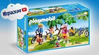 Обзор детского конструктора Велосипедная прогулка  - Playmobil. Интересные игрушки для детей