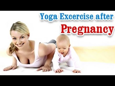 Yoga Exercises after Pregnancy – Losing Weight , Tone Up Stomach and Diet Tips in English.