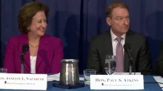 Click to play: A Look Back, and a Look Forward:  A Discussion with Three Former SEC Commissioners - Event Audio/Video
