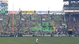 2014/03/25 第86回選抜高校野球 大島応援団