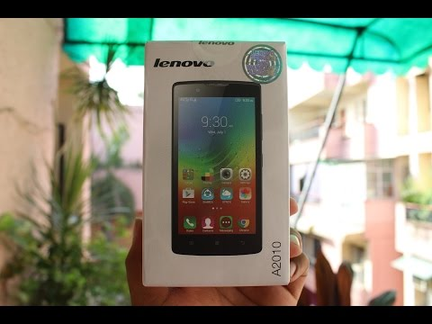 Lenovo A2010 India Unboxing & Hands on Overview
