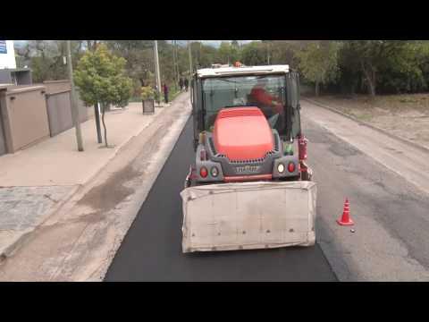 Obra en los barrios: Plan de pavimentación en Avenida Illia