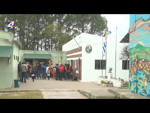 En la escuela de Orgoroso se cumplió una nueva Feria de Salud Rural