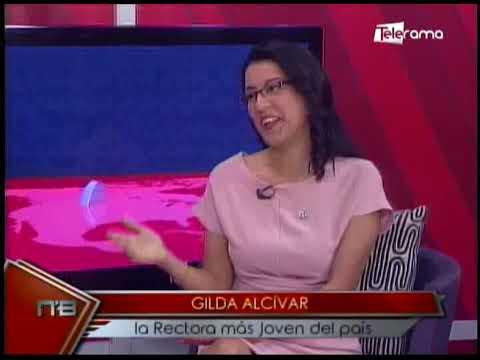 Gilda Alcívar la rectora más joven del país