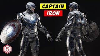 Download Video Ternyata Captain Amerika Pernah Jadi Seorang IRON MAN MP3 3GP MP4