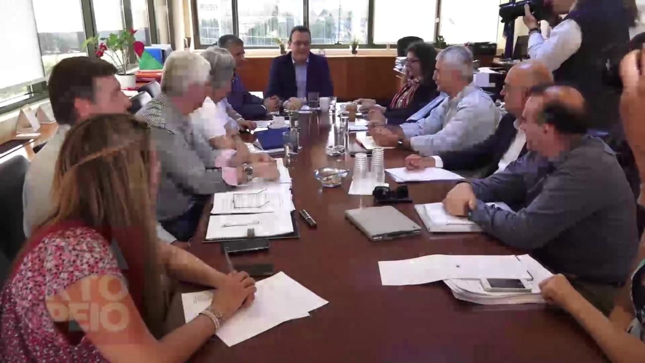 Ο  Σ. Φάμελλος  συναντήθηκε με τους εμπλεκόμενους φορείς για το νομοσχέδιο για την ανακύκλωση