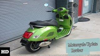 4. NEWS UPDATE !!!2018 Vespa GTS 300 GTS 300 Touring Design Overview