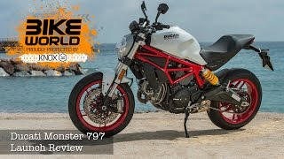4. Ducati Monster 797 First Ride | launch Review, Price From £7895.00