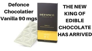 The New Edible King: Defonce Chocolatier Vanilla 90 mg Review by  Weeats Reviews