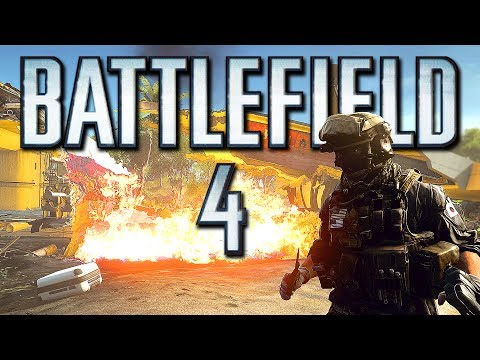 Battlefield 4 Online Funny Moments – Old Cannon Fun, Boat Glitches and BIG Explosions! (Funtage)