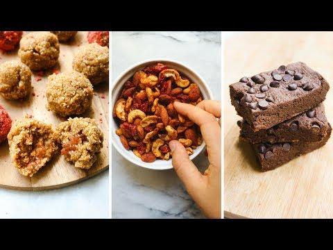 6 Easy Vegan Lunchbox Snacks for School or Work!