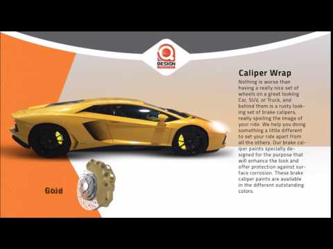 Qdesign Auto Center - Caliper Wrap
