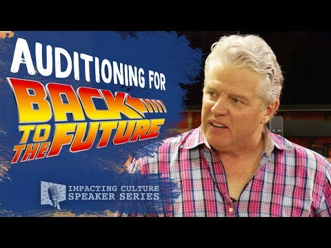 """Auditioning for """"Biff"""" from Back to the Future 