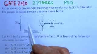 Video Solution to GATE ECE -2010 Problem -Comm.System
