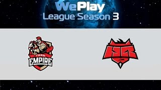 Empire vs HR, game 1