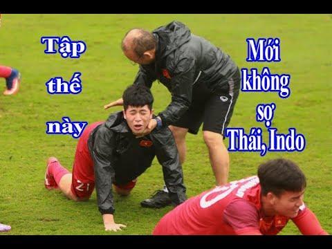 """HLV Park Hang Seo cho U23 Việt Nam tập bài """"siêu dị"""" để chọi lại Thái Lan, Indonesia - Thời lượng: 11:29."""