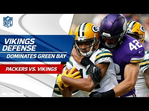 Video: Minnesota's Defense Dominates Green Bay! | Packers vs. Vikings | Wk 6 Player Highlights