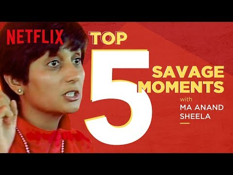 Top 5 savage moments of Ma Anand Sheela | Wild Wild Country