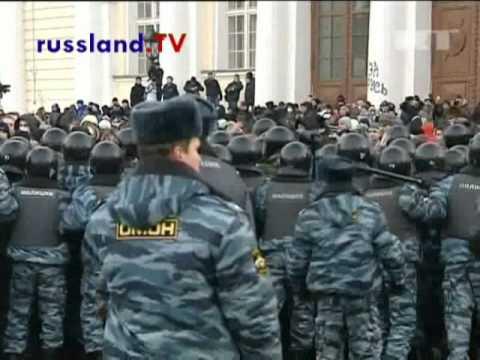 Fußballkrawalle in Moskau - mehrere Dutzend Mensche ...