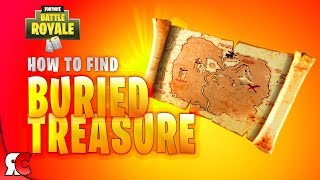 How to Find Buried Treasure in Fortnite (NEW Treasure Maps and Legendary Loot)