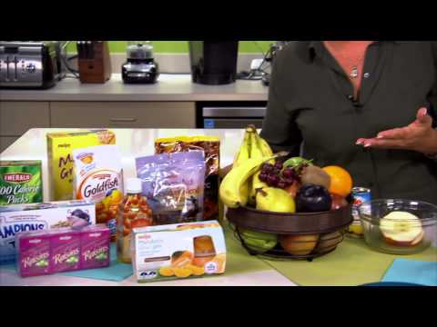 Meijer Healthy Living -- Sensible Snacks