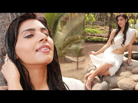 Anjana B In A Wet White Saree For Love And Passion