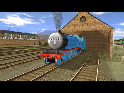 Trainz Short - Night Of The Dead Engines