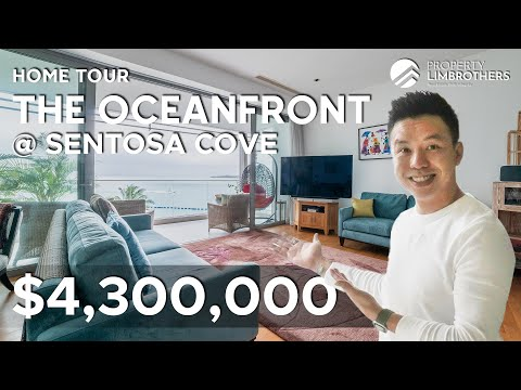 The Oceanfront @ Sentosa Cove | 4 Bedroom Condo Spectacular Sea-views with Beautiful Sunrise $4.3M