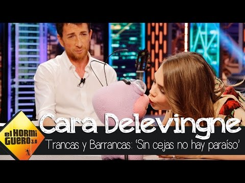 Cara Delevingne Rocks Out [VIDEO]