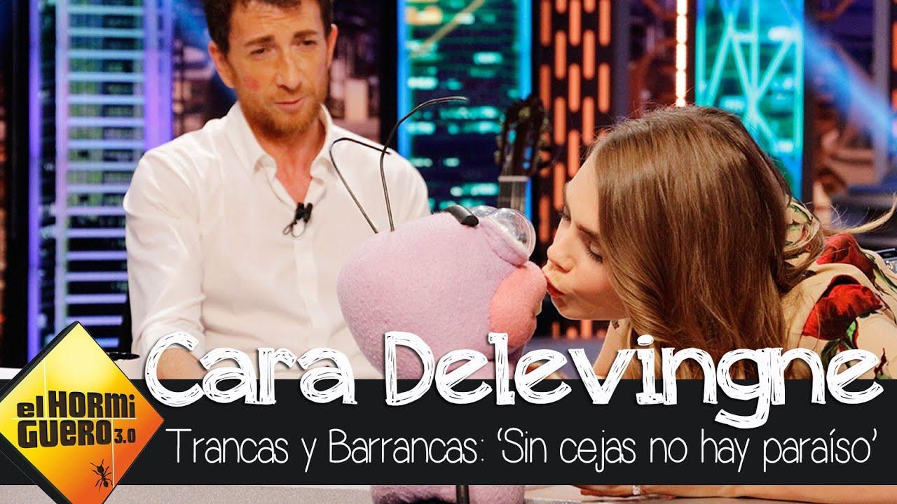Barrancas pide matrimonio a Cara Delevingne – El Hormiguero 3.0
