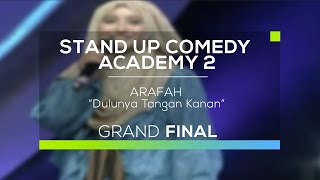 Video Arafah - Dulunya Tangan Kanan (SUCA 2 - Grand Final) MP3, 3GP, MP4, WEBM, AVI, FLV Oktober 2017