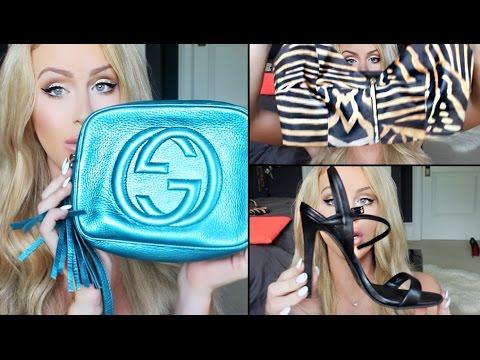 HUGE CLOTHING HAUL: BAGS, SHOES & MORE! | Gigi