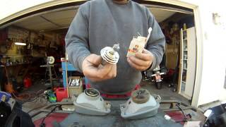 8. Headlight bulb replacement  Kawasaki Prairie & Brute force with  optional part numbers
