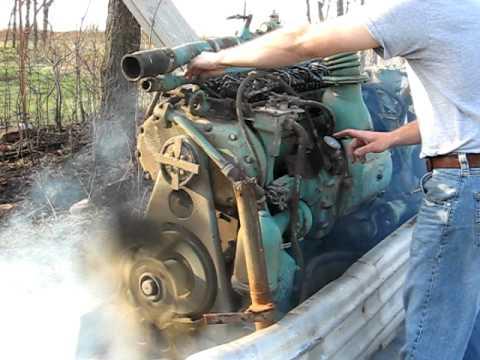 1951 671 Detroit Diesel start-up