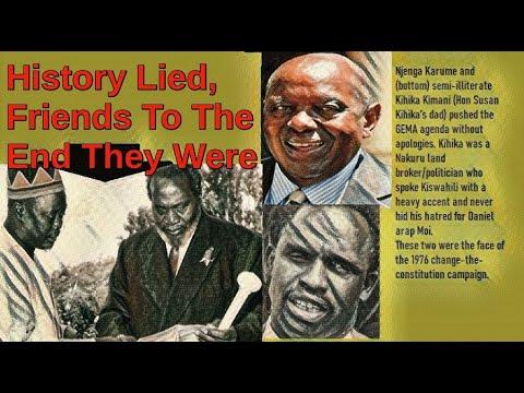 Secret Cables: Real Story Behind Gema Wanting To Make Jaramogi President | Kenya Politics