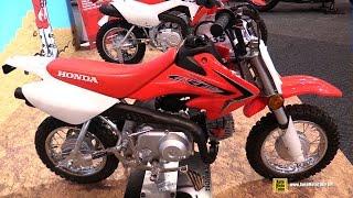 7. 2015 Honda CRF 50F - Walkaround - 2015 Toronto Motorcycle Show