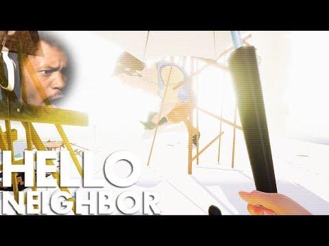 WE FINALLY BEAT GIANT NEIGHBOR!! | Hello Neighbor #9 (BETA BOSS ENDING)