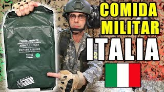 Video Probando COMIDA DE SUPERVIVENCIA MILITAR de ITALIA MP3, 3GP, MP4, WEBM, AVI, FLV September 2019