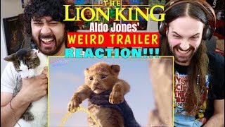 THE LION KING (2019) Weird Trailer | FUNNY SPOOF PARODY by Aldo Jones REACTION!!! by The Reel Rejects