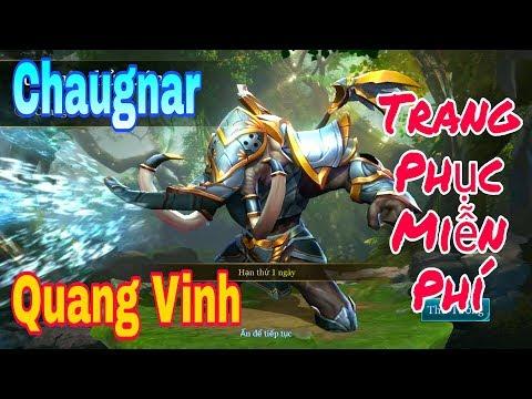 [Gcaothu] Trang phục miễn phí thưởng hạng mùa 6 Chaugnar Quang Vinh - Đẹp không tì vết