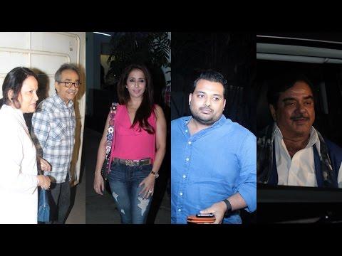 Shatrughan Sinha At Special Screening Of Film Noor
