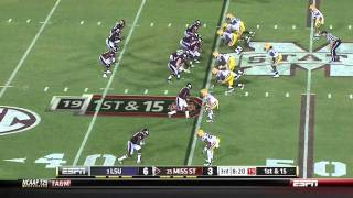Michael Brockers vs Mississippi State 2011